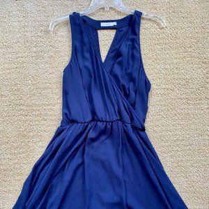 Lush Navy Blue Fit & Flare dress XL
